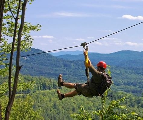 Alpine Zipline, Lincoln, NH
