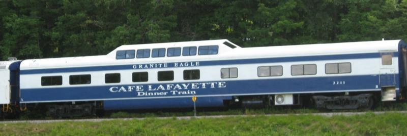 Cafe Lafayette Dinner Train, Lincoln, NH
