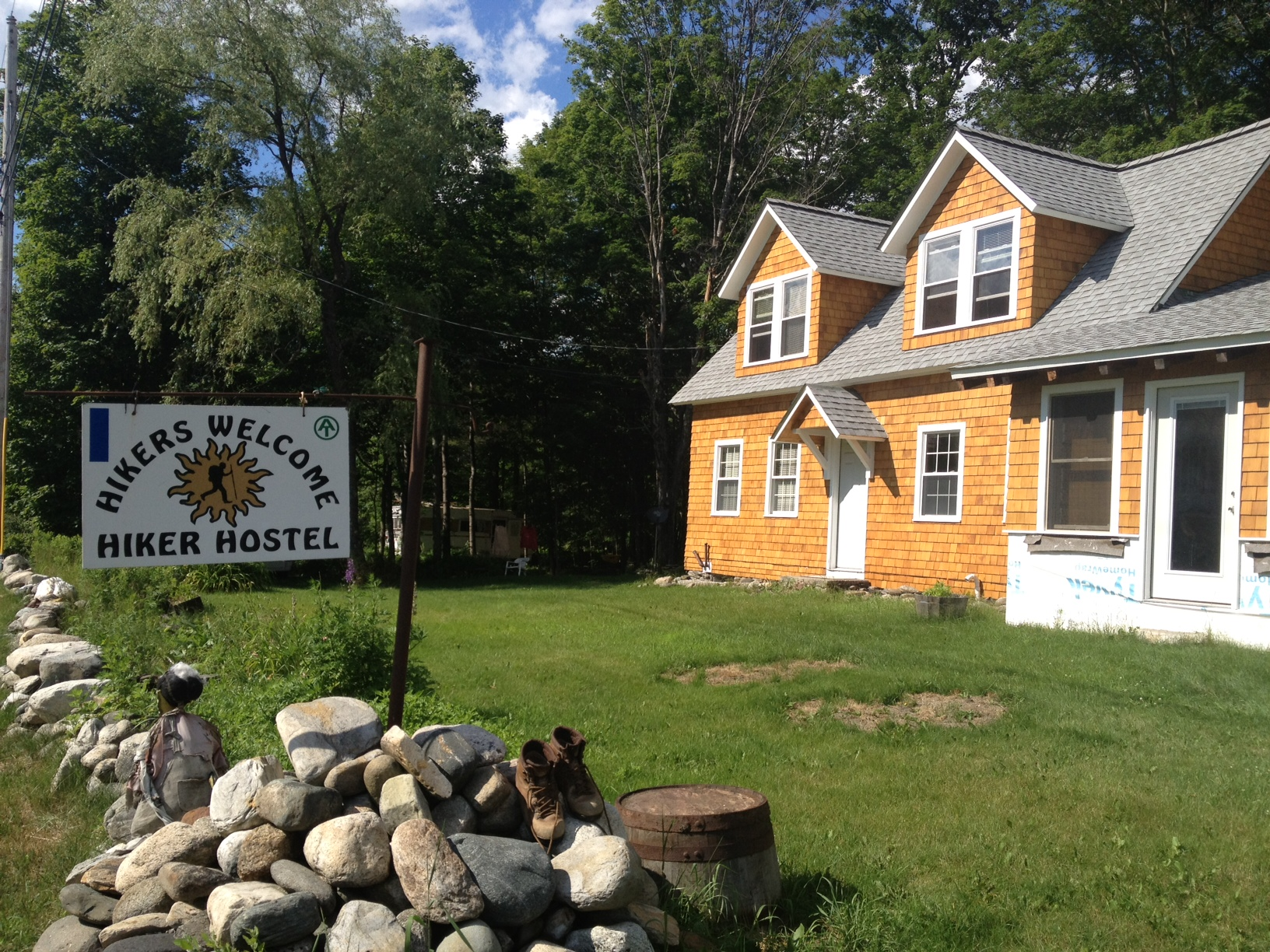 Hiker's Welcom Hostel, Warren, NH