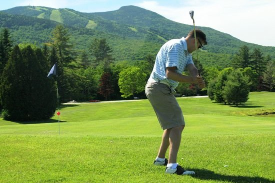 Golfing, Waterville Valley, NH