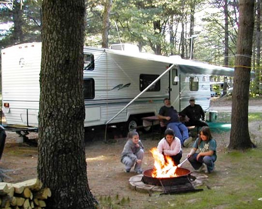 Pine Haven Campground, Wentworth, NH