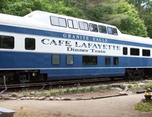 Cafe Lafayette Dinner Train, Woodstock, NH