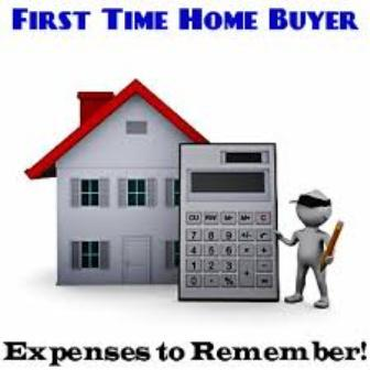First Time Homebyer Expenses to Remember
