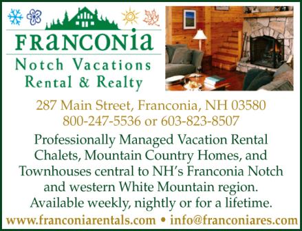 Franconia Notch Vacation Specialist
