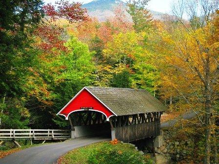 Covered Bridge Campton, NH