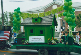 Condon Realty Green Home Float
