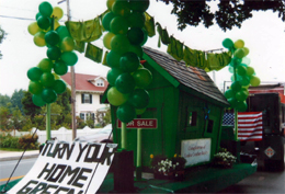 Turn Your Home Green Float