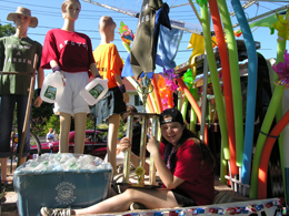 Exchange Club Trophy Float
