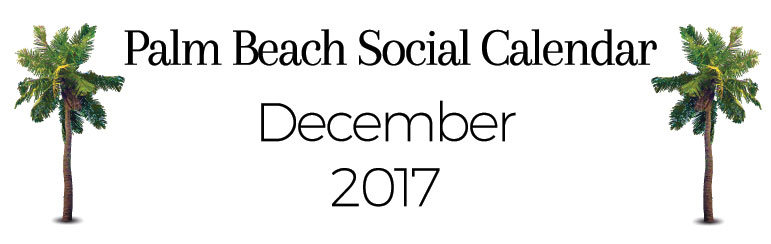 December Palm Beach Happening Header