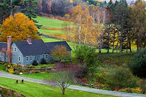 farmhouse in vermont