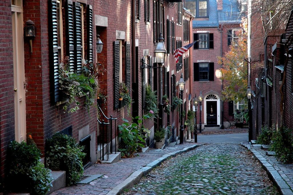 Boston alley way