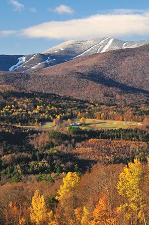 Sugarbush mountain view