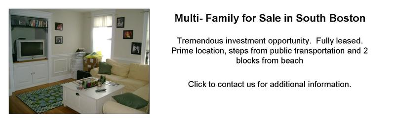 South Boston MA Multifamily Homes