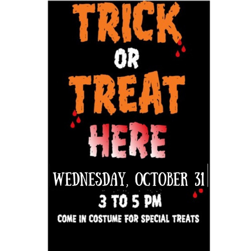 Trick or Treat Arlington Poster