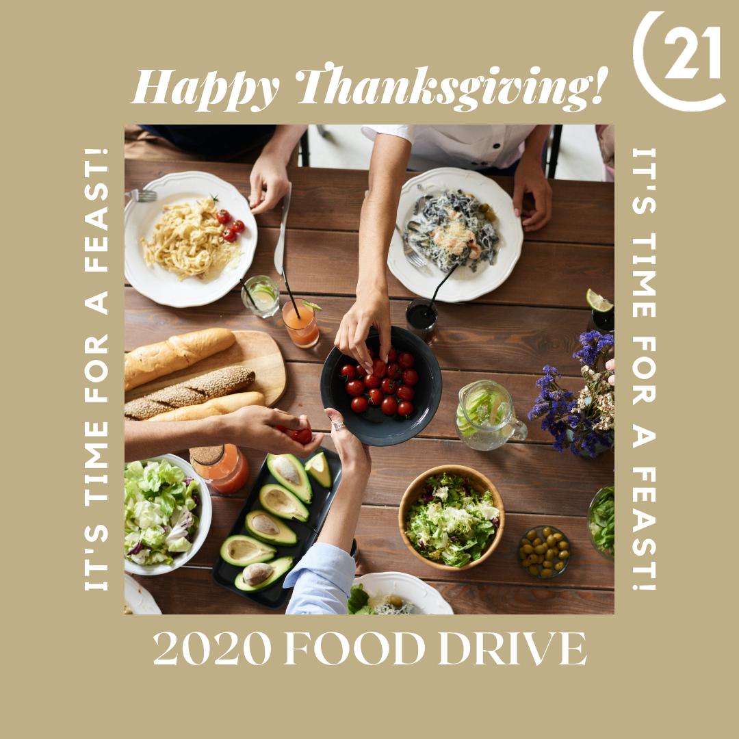 Thanksgiving & Holdai 2020 Food Drive
