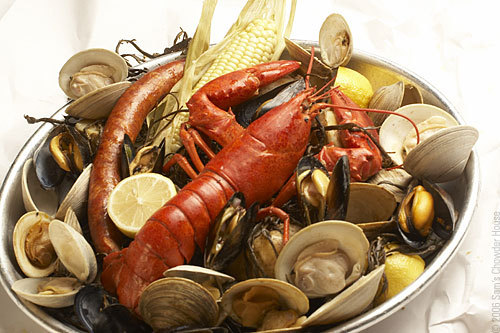 The modified new england clam bake recipe Wallpaper
