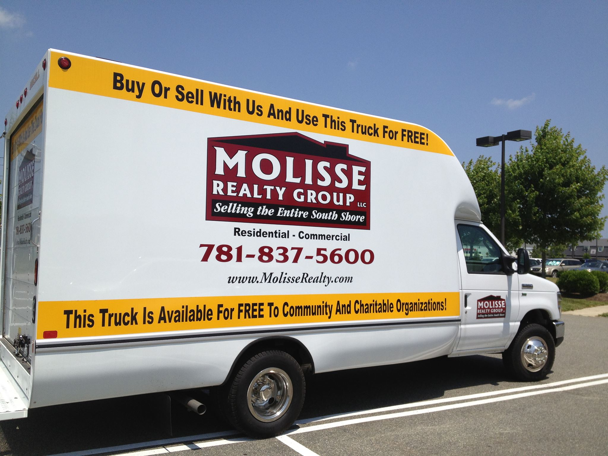 Molisse Realty Moving Truck
