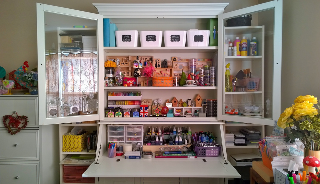 Creating Space And Storage For Crafters