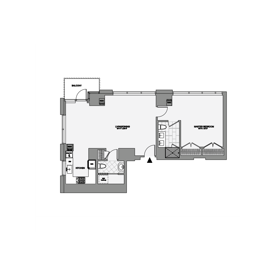 45 Province One Bedroom