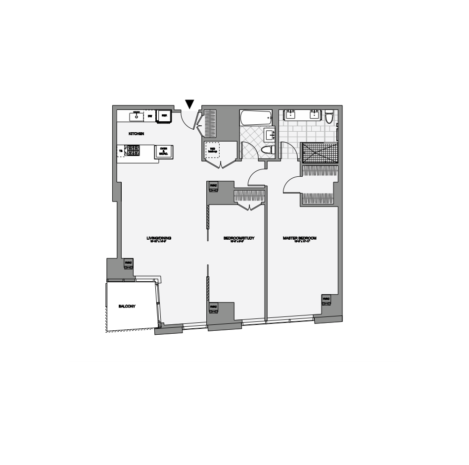 45 Province Two Bedroom