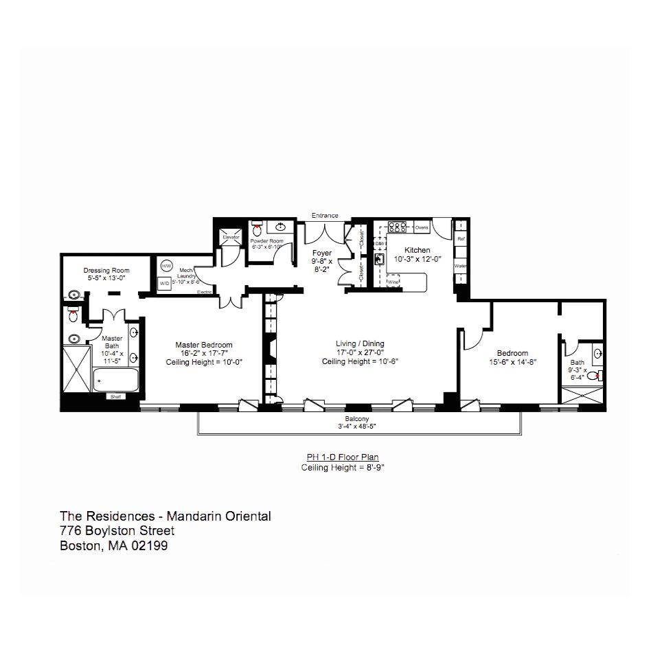 The Mandarin Oriental Penthouse