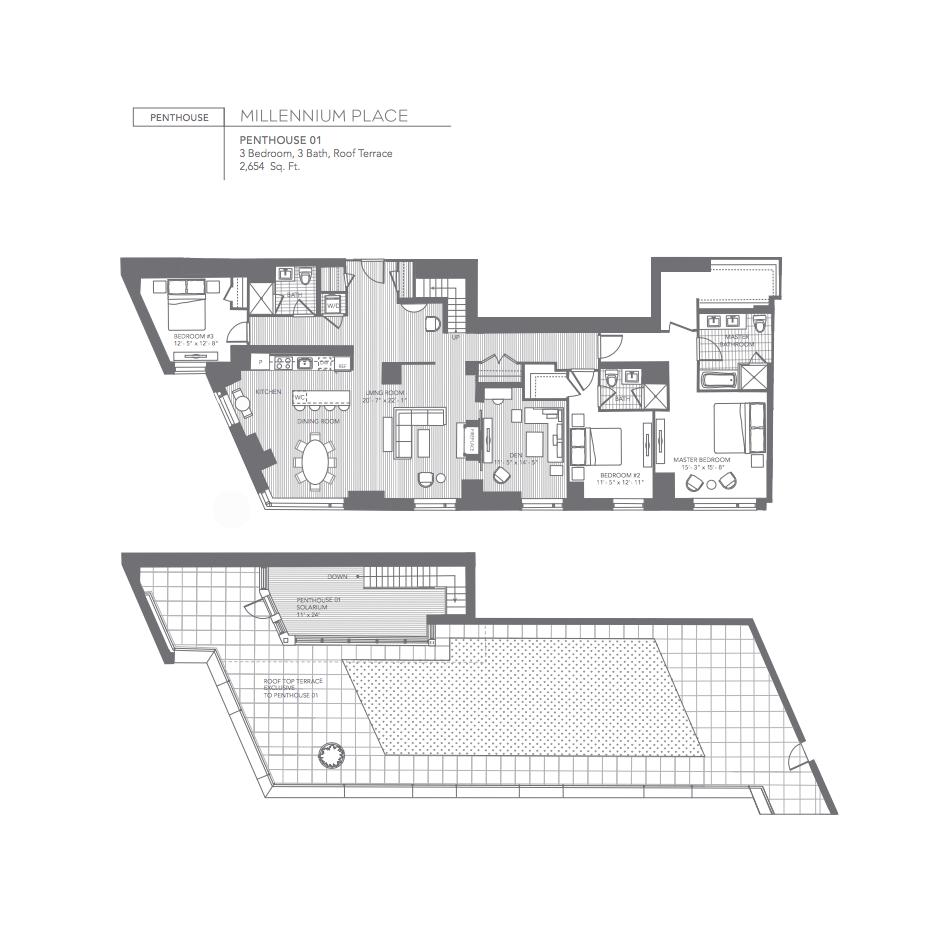 Millennium Place Penthouse 1