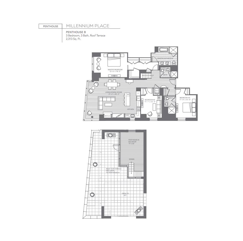 Millennium Place Penthouse B