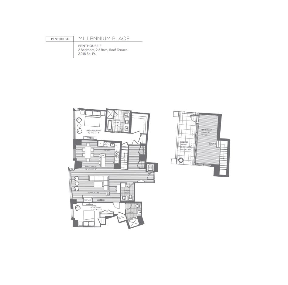 Millennium Place Penthouse F