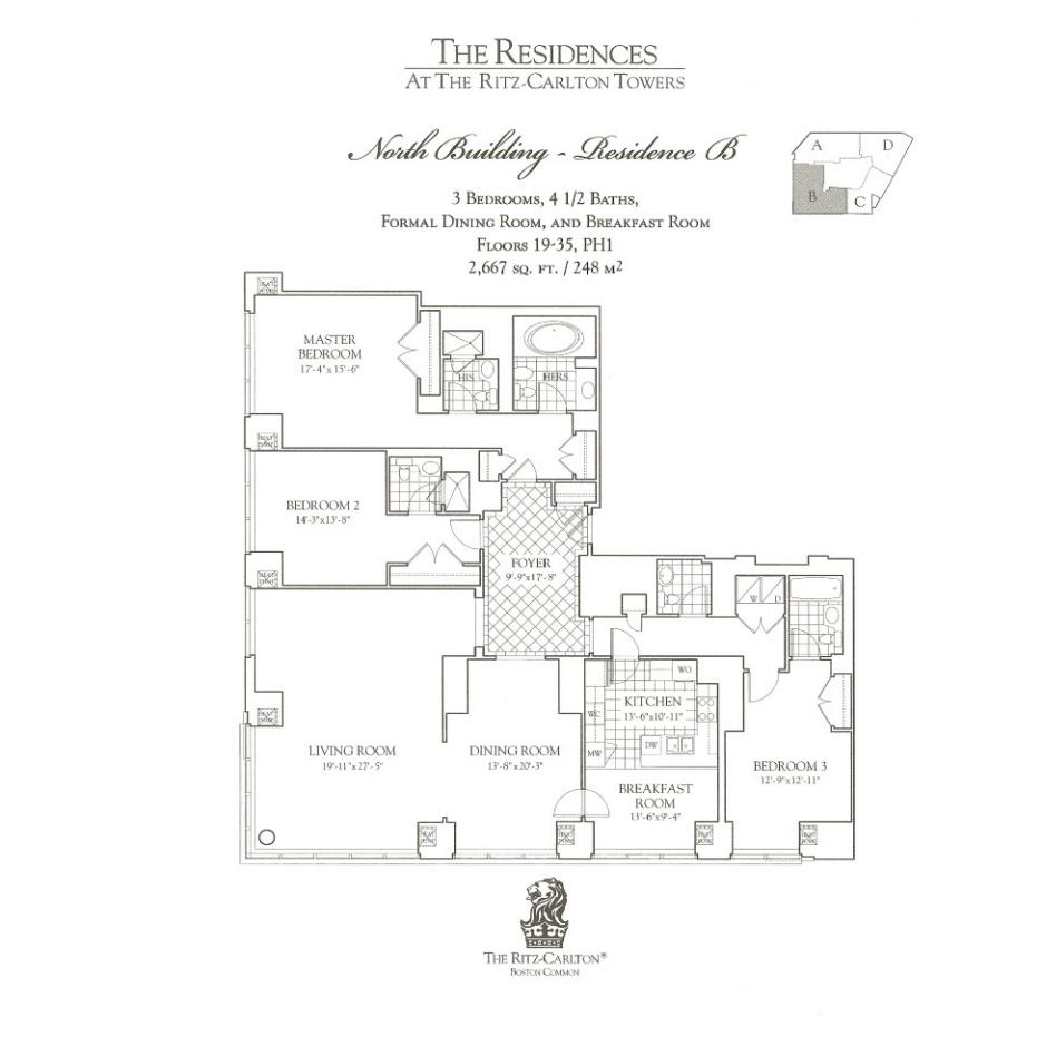 Ritz Carlton 1 Avery B Three Bedroom