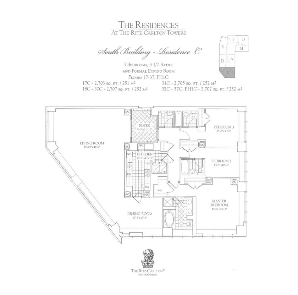 Ritz Carlton 2 Avery C Three Bedroom