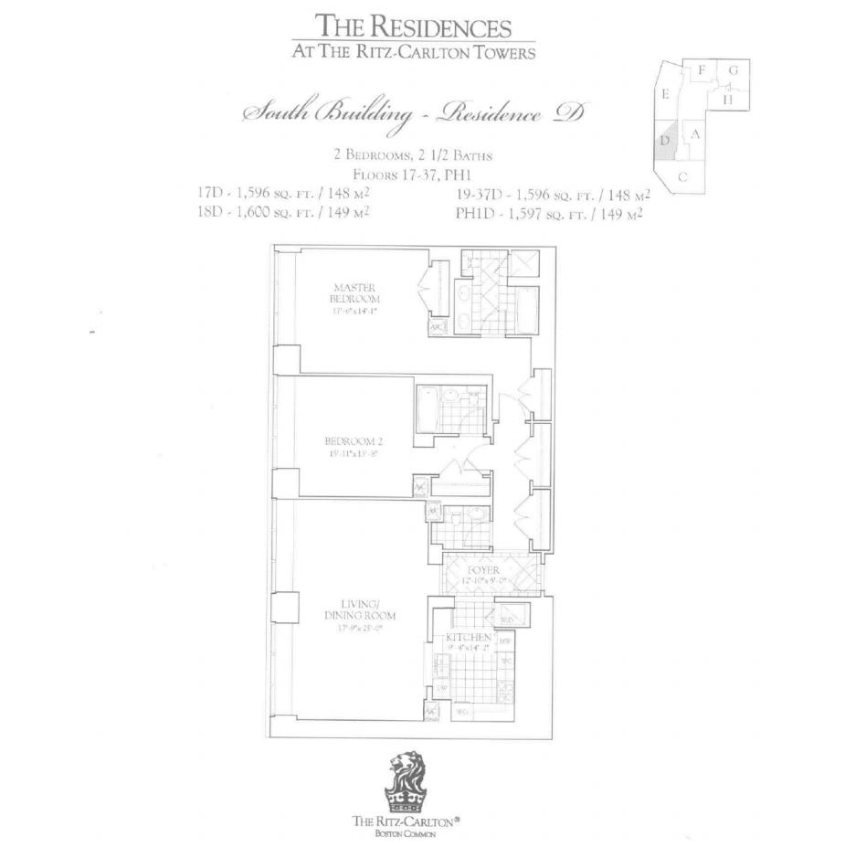 Ritz Carlton 2 Avery D Two Bedroom
