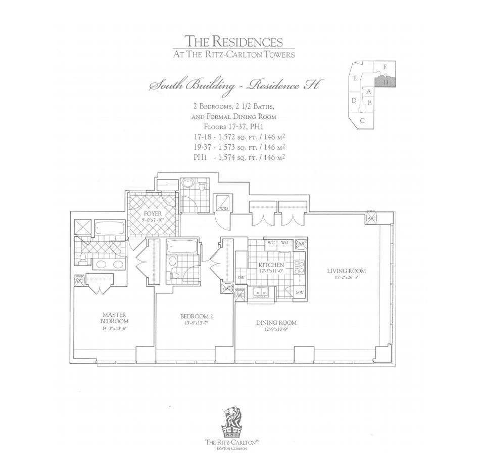 Ritz Carlton 2 Avery H Two Bedroom