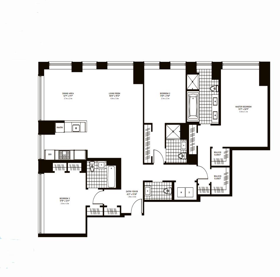 The Clarendon Three Bedroom E Plus