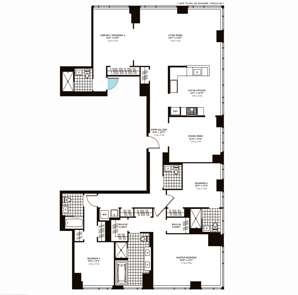 The Clarendon Three Bedroom A Plus