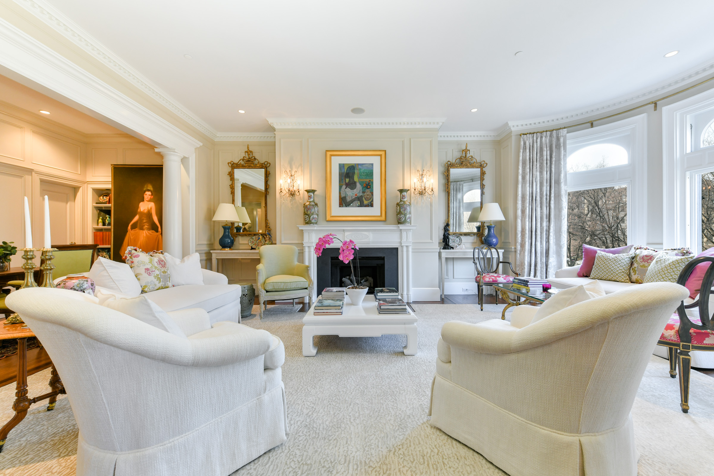 Burrage Mansion Living Area