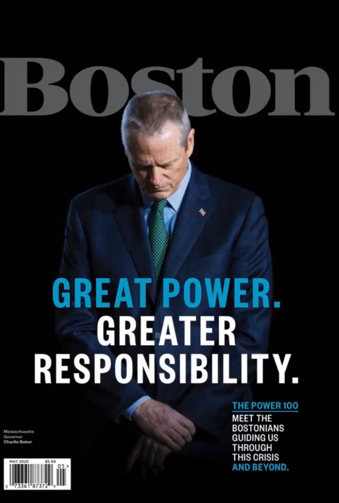 Boston Magazine May 2020 Cover