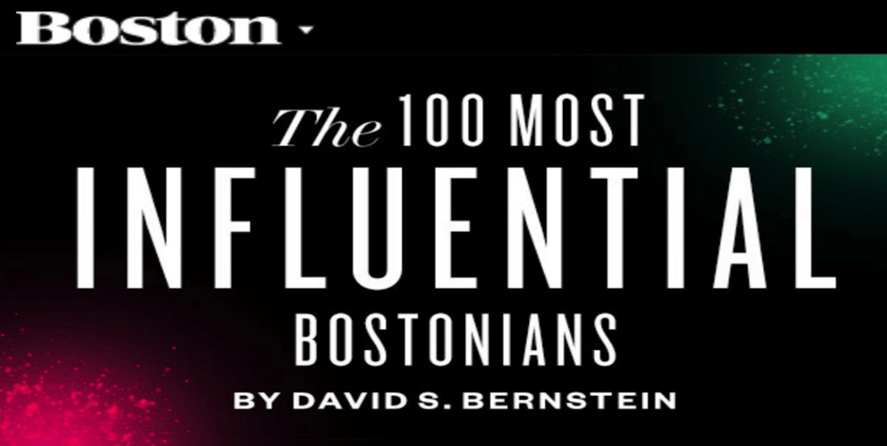 The 100 Most Influential Bostonians