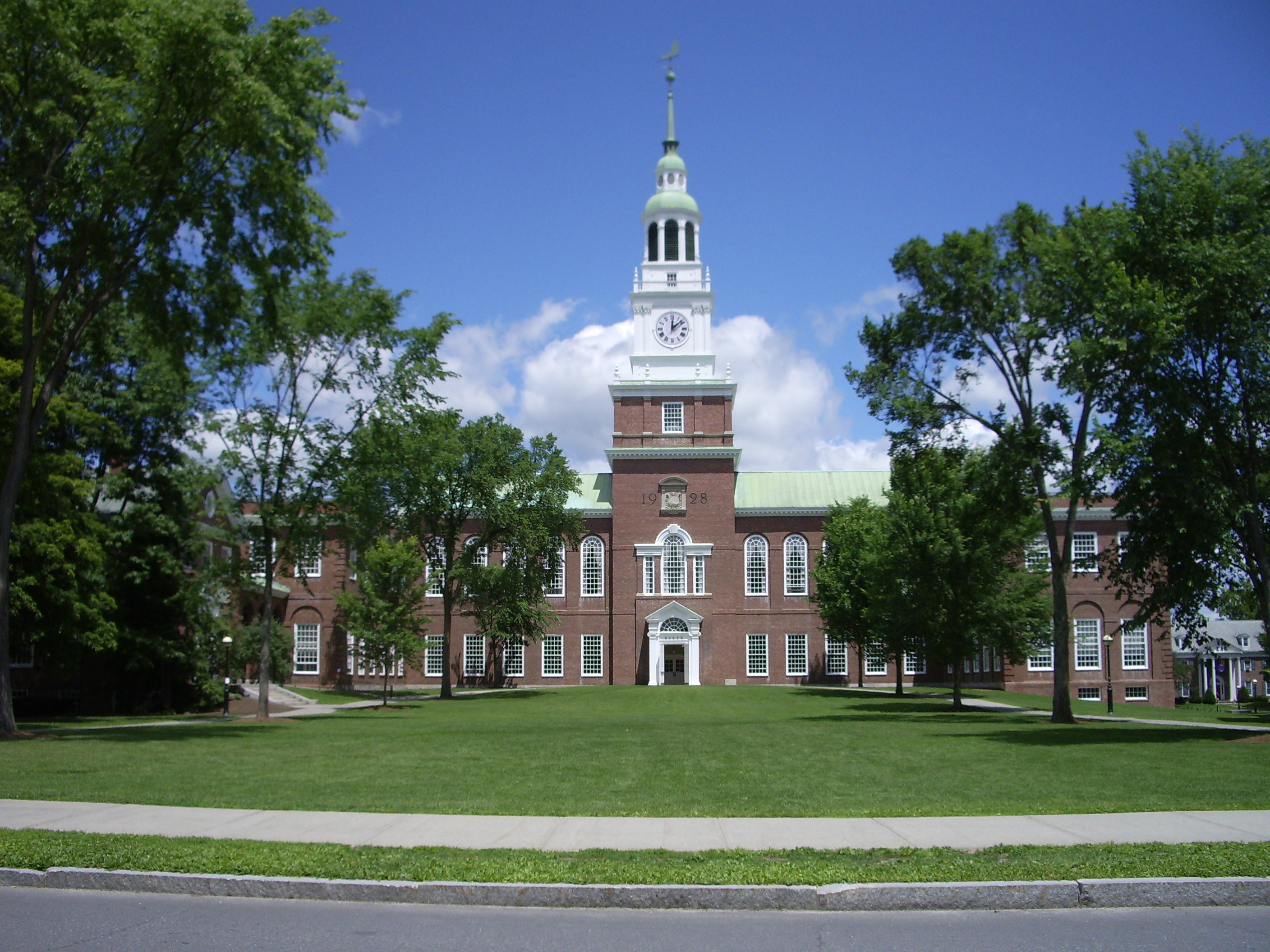 Dartmouth College in Hanover NH