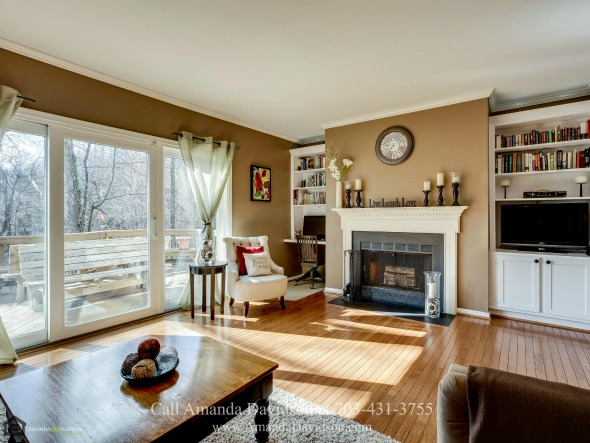 Real Estate Properties for Sale in Alexandria VA - This Alexandria VA townhouse is exceptionally maintained, filled with natural light and spacious living spaces and complete with all the amenities for comfortable modern living. What more can you ask for?