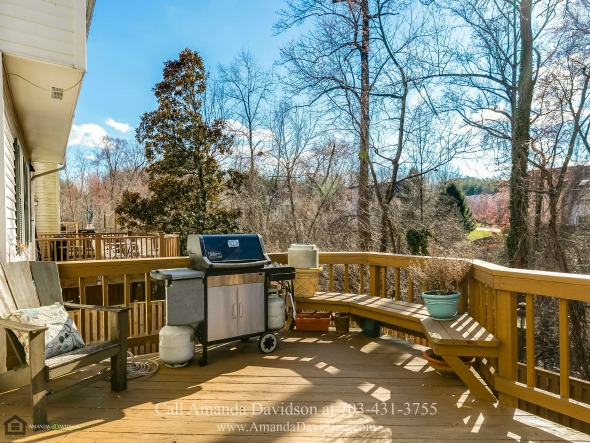 Alexandria VA Townhouses- Escape the hustle of daily living when you stay on the beautiful upper deck of this townhouse for sale in Alexandria VA.