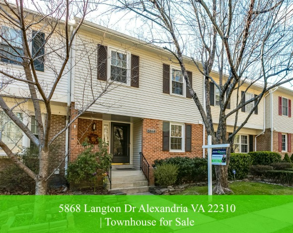 Townhomes for Sale in Alexandria VA - You'll love the charm and style of this meticulously maintained townhouse for sale in Alexandria VA.