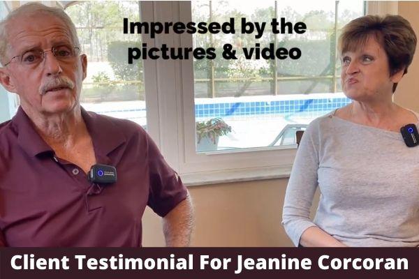 Client Testimonial For Realtor Jeanine Corcoran