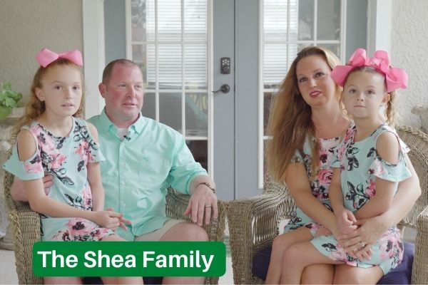 Harmony Homes For Sale Is What Attracted The Shea Family
