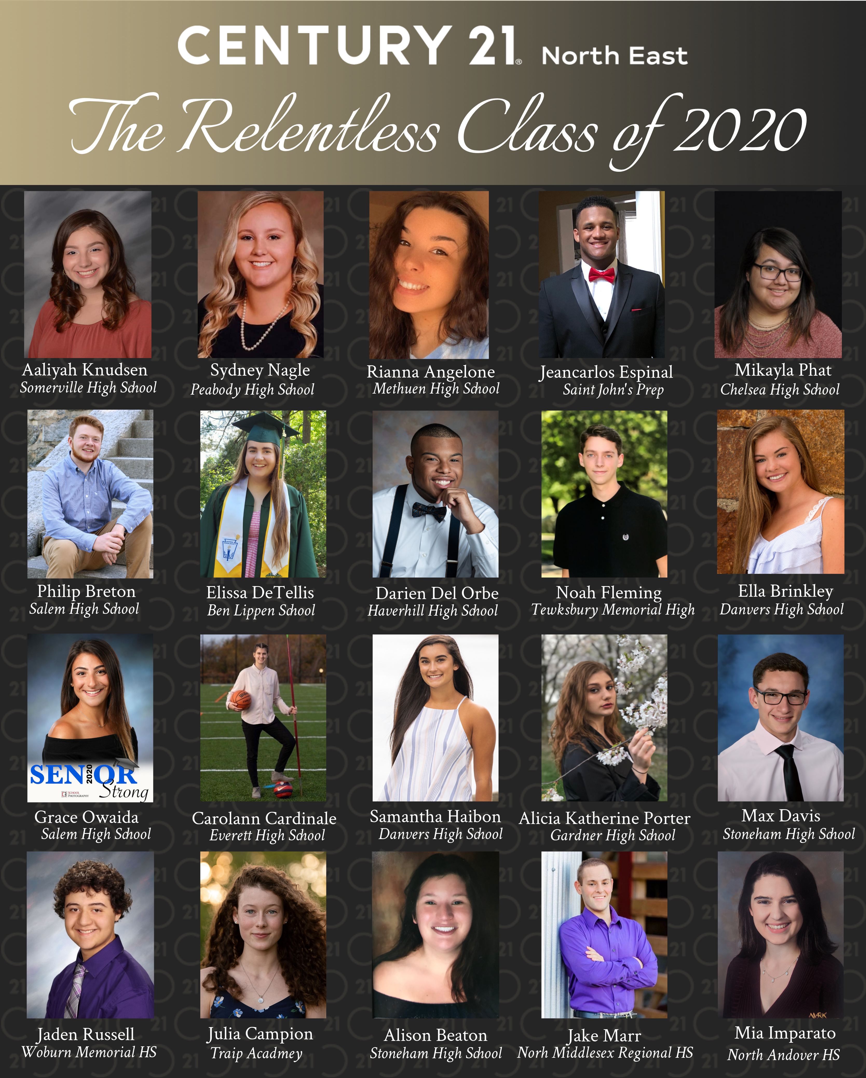 CENTURY 21 North East: The Relentless Class of 2020
