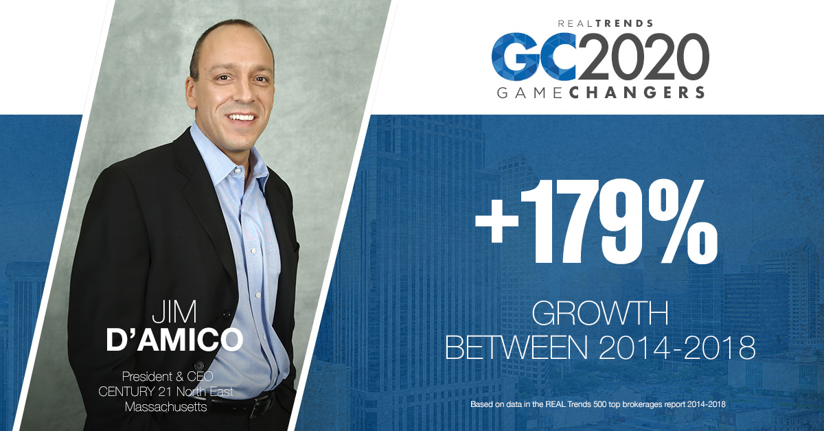 Real Trends 2020 Game Changers: Jim D'amico