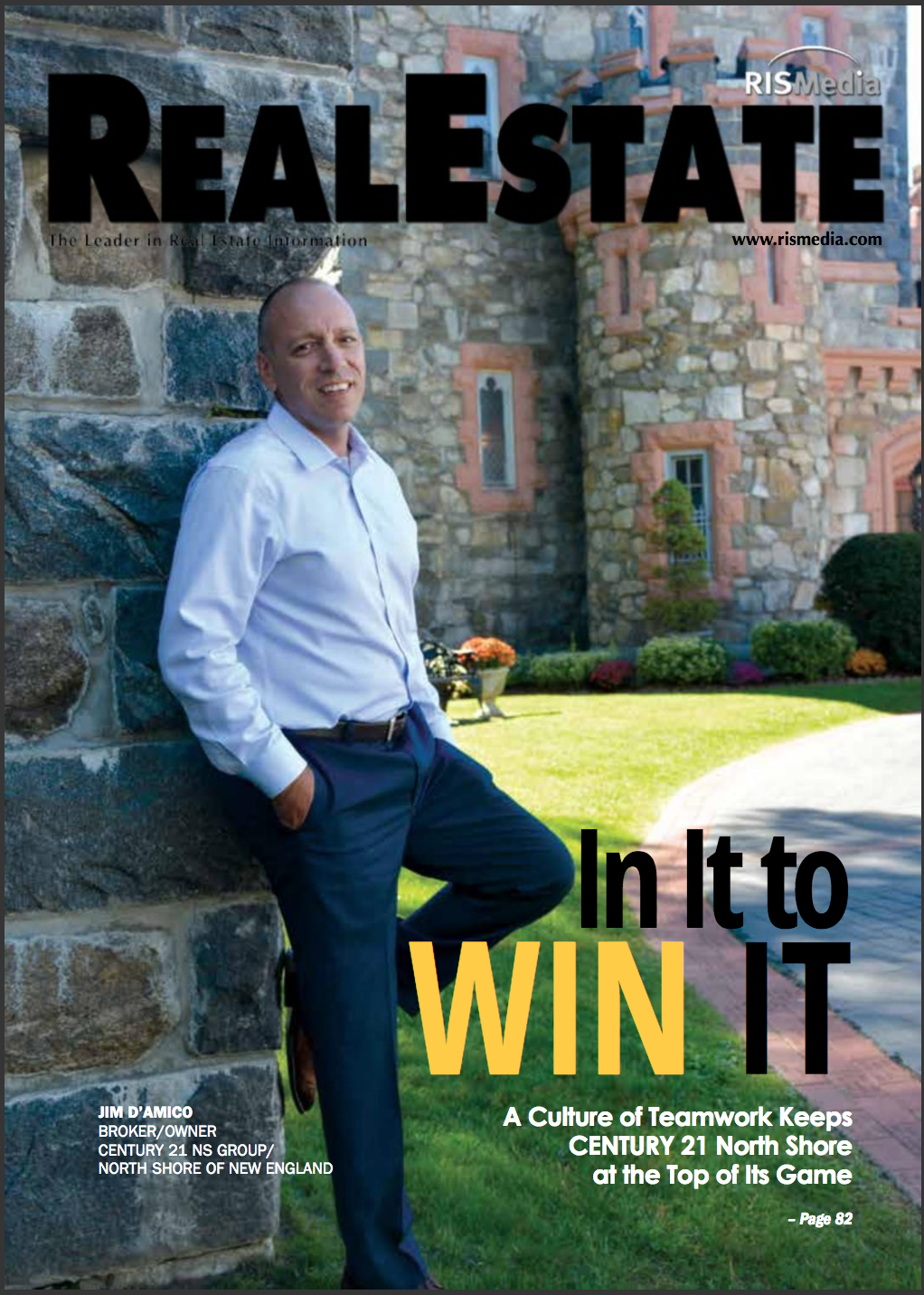 Jim D'Amico Makes Cover of RISMedia Magazine