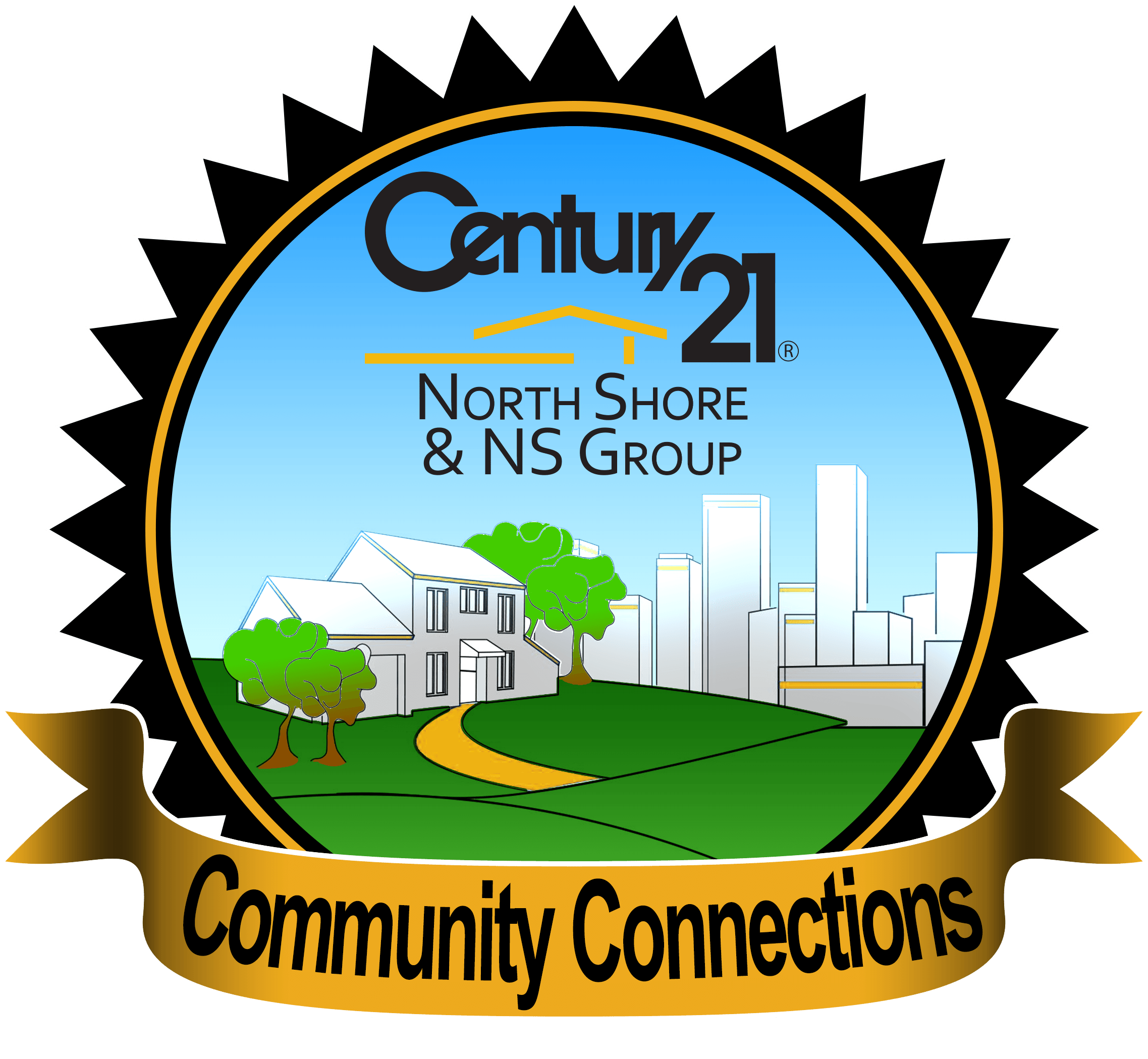 CENTURY 21 NS Group Community Connection Logo