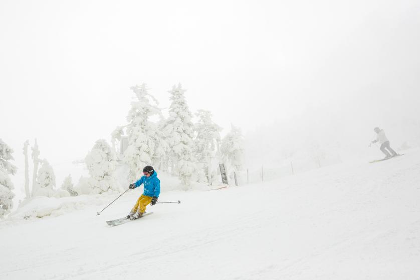 skier on killington
