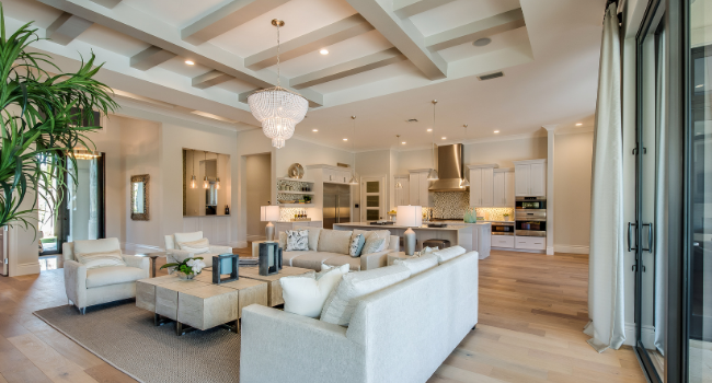 real estate trends: open floor plan v. traditional layout