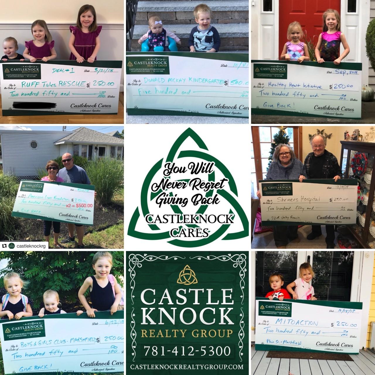 Castleknock Cares collage 2018 sales